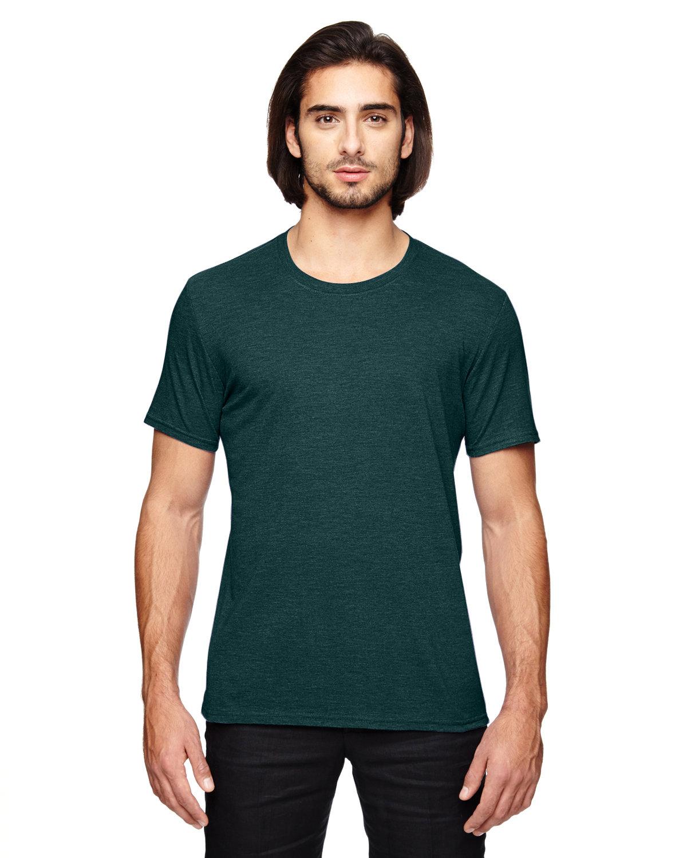Anvil Adult Triblend T-Shirt HTH DARK GREEN