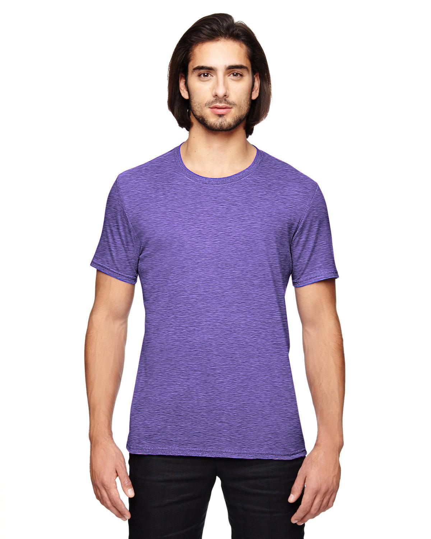 Anvil Adult Triblend T-Shirt HEATHER PURPLE