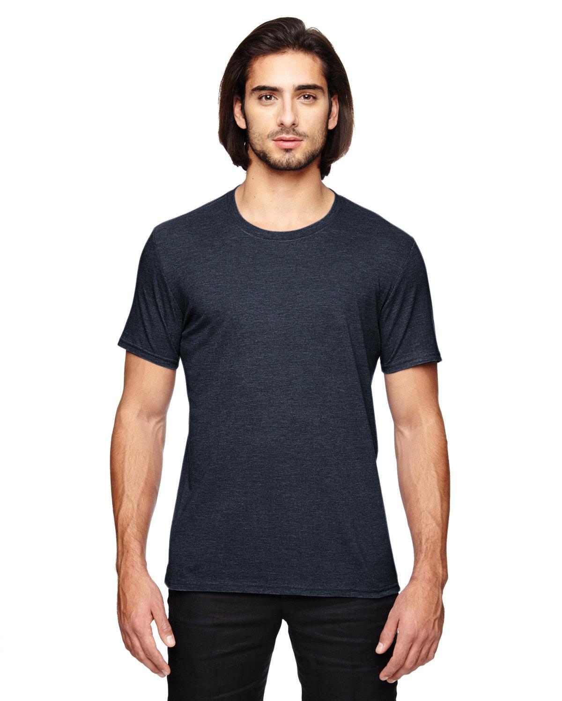 Anvil Adult Triblend T-Shirt HEATHER NAVY