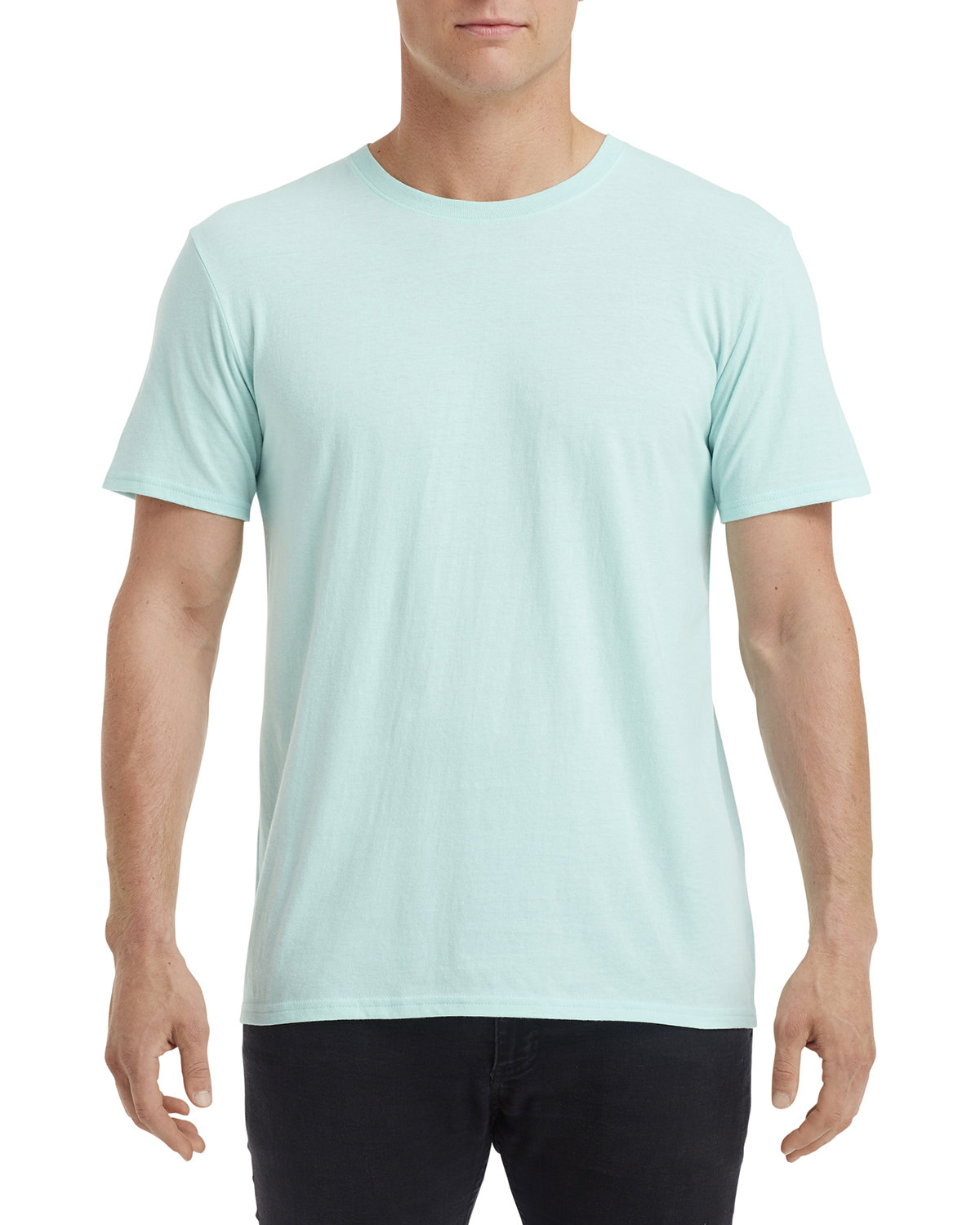Anvil Adult Triblend T-Shirt TEAL ICE