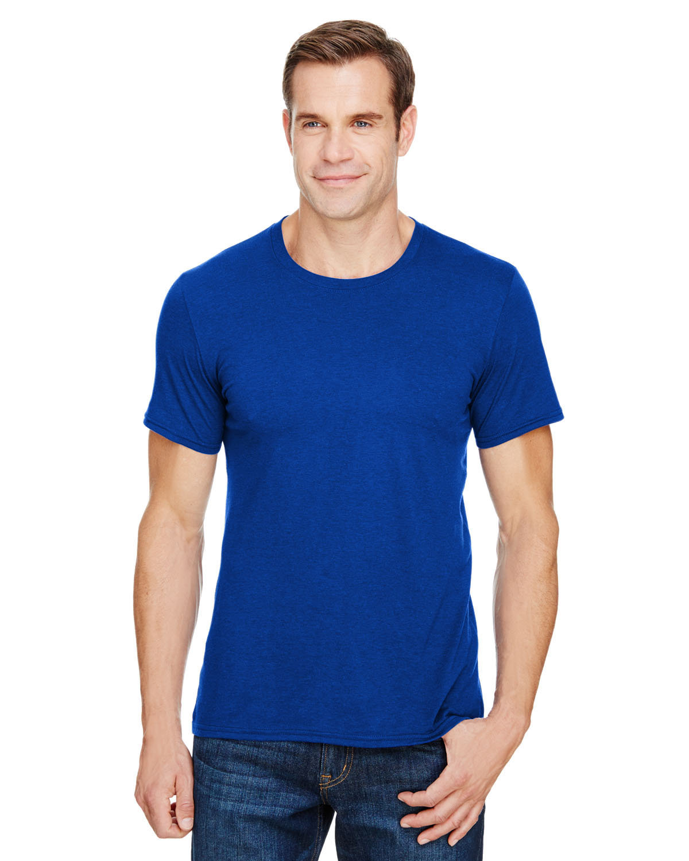 Anvil Adult Triblend T-Shirt ATLANTIC BLUE