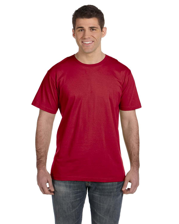 LAT Men's Fine Jersey T-Shirt GARNET