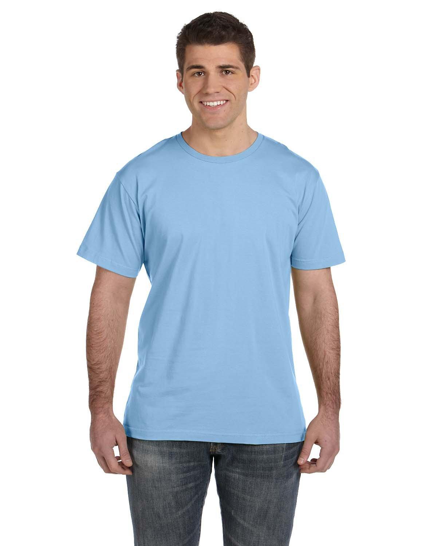 LAT Men's Fine Jersey T-Shirt LIGHT BLUE