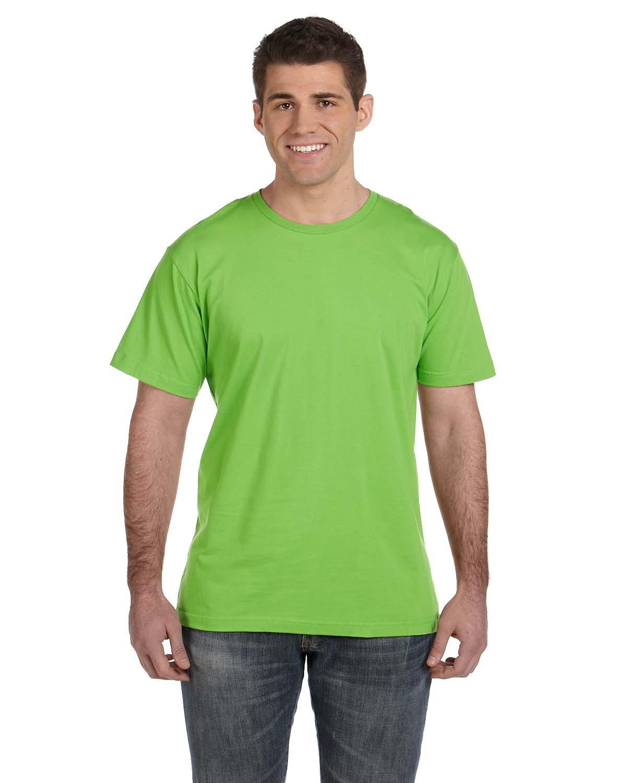 LAT Men's Fine Jersey T-Shirt KEY LIME