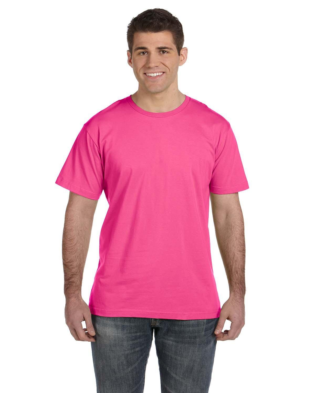 LAT Men's Fine Jersey T-Shirt HOT PINK