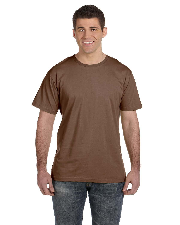 LAT Men's Fine Jersey T-Shirt BROWN