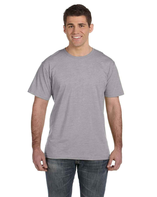 LAT Men's Fine Jersey T-Shirt HEATHER