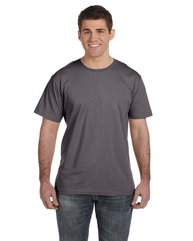 LAT Men's Fine Jersey T-Shirt CHARCOAL