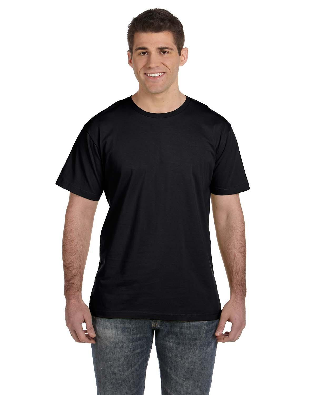 LAT Men's Fine Jersey T-Shirt BLACK
