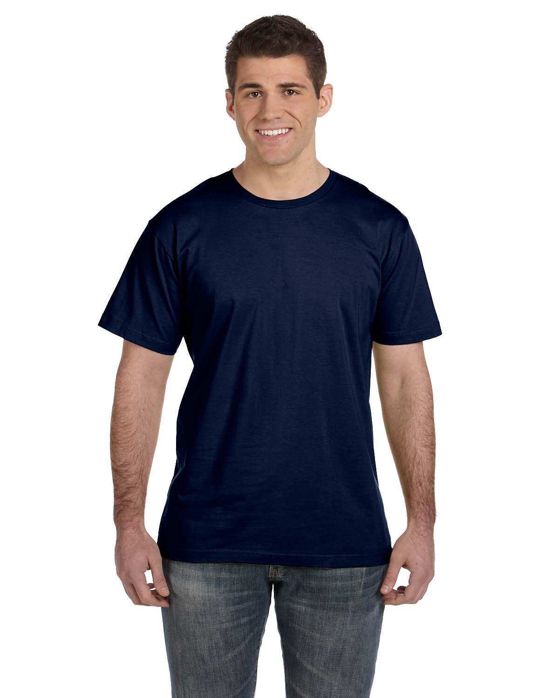 LAT Men's Fine Jersey T-Shirt NAVY