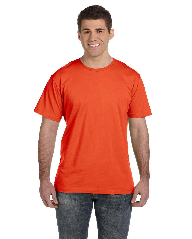 LAT Men's Fine Jersey T-Shirt ORANGE