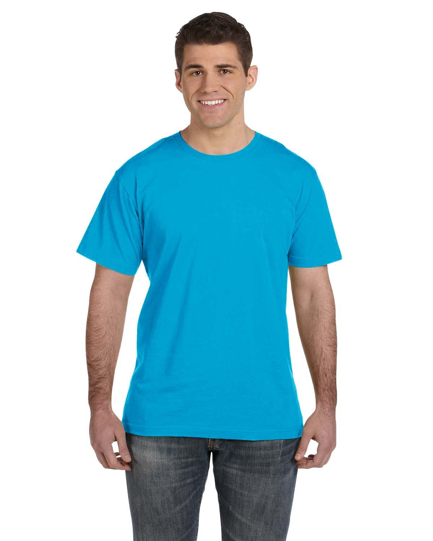 LAT Men's Fine Jersey T-Shirt TURQUOISE