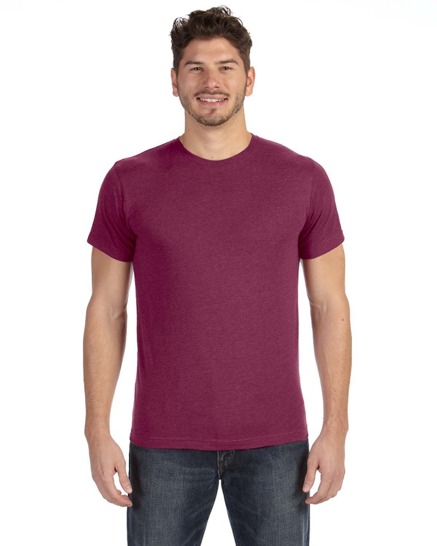 LAT Men's Fine Jersey T-Shirt VINTAGE BURGUNDY