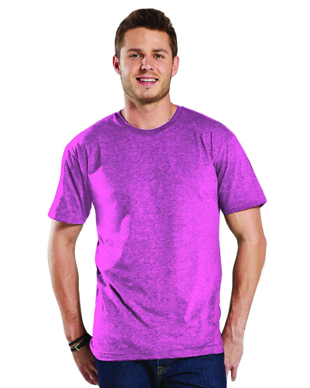 LAT Men's Fine Jersey T-Shirt VINTAGE HOT PINK