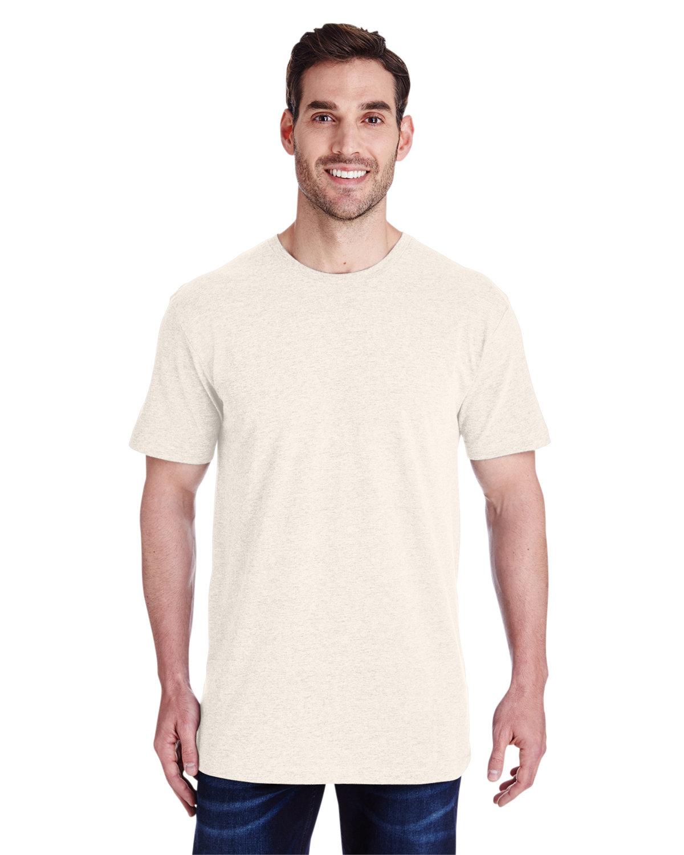 LAT Men's Fine Jersey T-Shirt NATURAL HEATHER