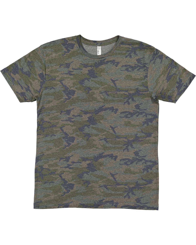 LAT Men's Fine Jersey T-Shirt VINTAGE CAMO