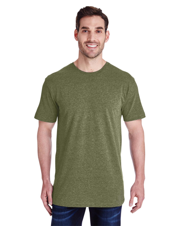 LAT Men's Fine Jersey T-Shirt VNT MILITARY GRN