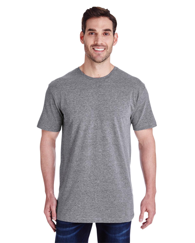 LAT Men's Fine Jersey T-Shirt GRANITE HEATHER