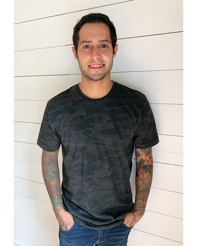 LAT Men's Fine Jersey T-Shirt STORM CAMO