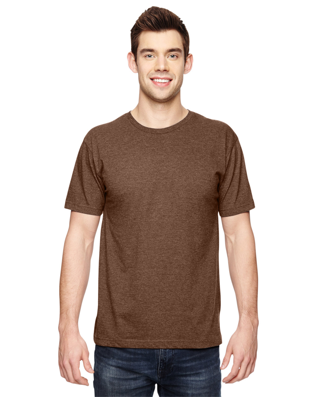 LAT Men's Fine Jersey T-Shirt VIN CHOCOLATE