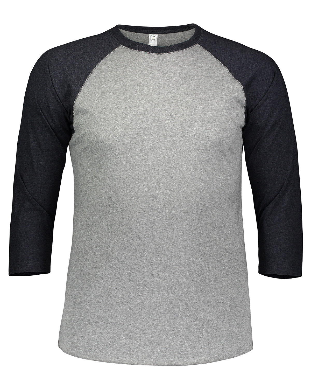 LAT Men's Baseball T-Shirt VN HTHR/ VN NAVY