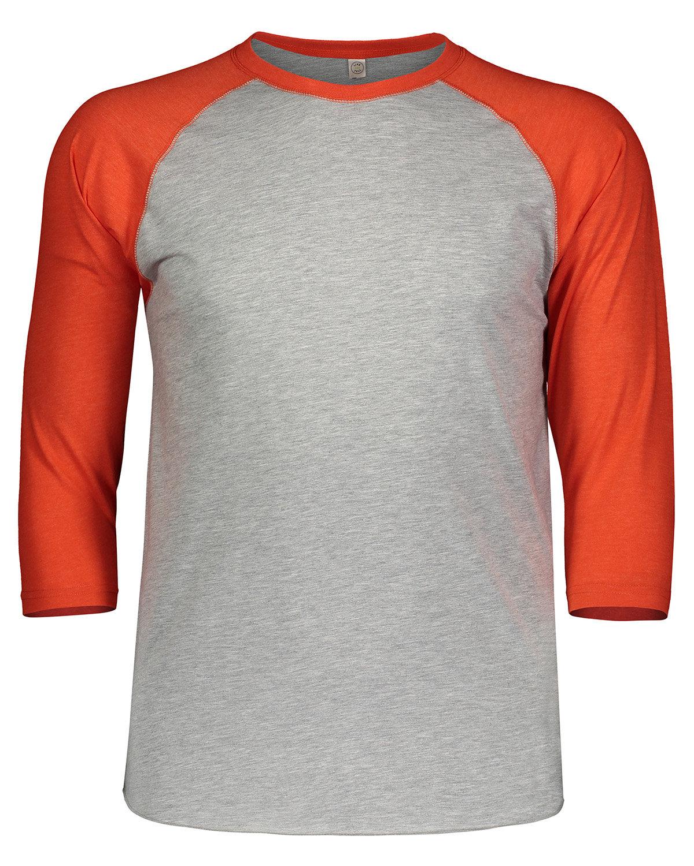 LAT Men's Baseball T-Shirt VN HTR/ VN ORG