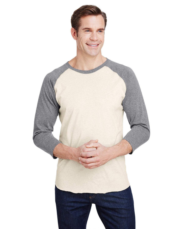 LAT Men's Baseball T-Shirt NAT HTH/ GRAN HT