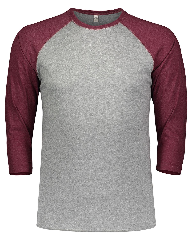 LAT Men's Baseball T-Shirt VN HTHR/ VN BURG