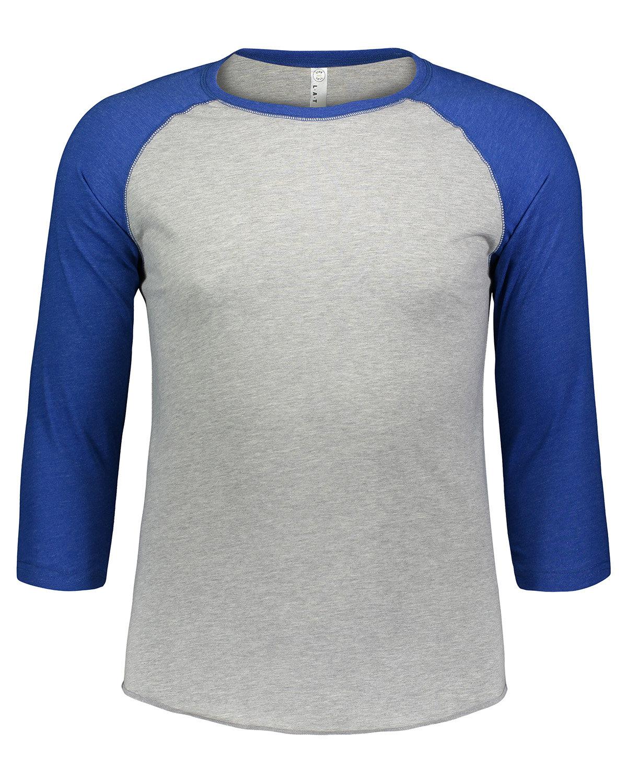 LAT Men's Baseball T-Shirt VN HTH/ VN ROYAL