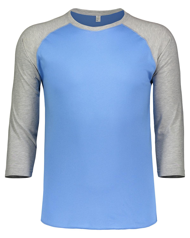 LAT Men's Baseball T-Shirt CRLNA BL/ VN HTH