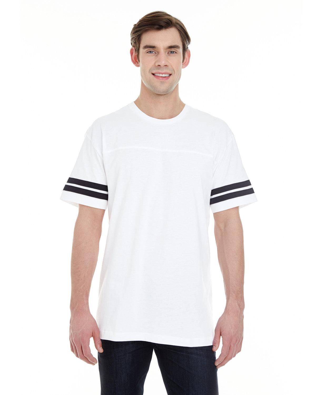 LAT Men's Football T-Shirt WHITE/ BLACK