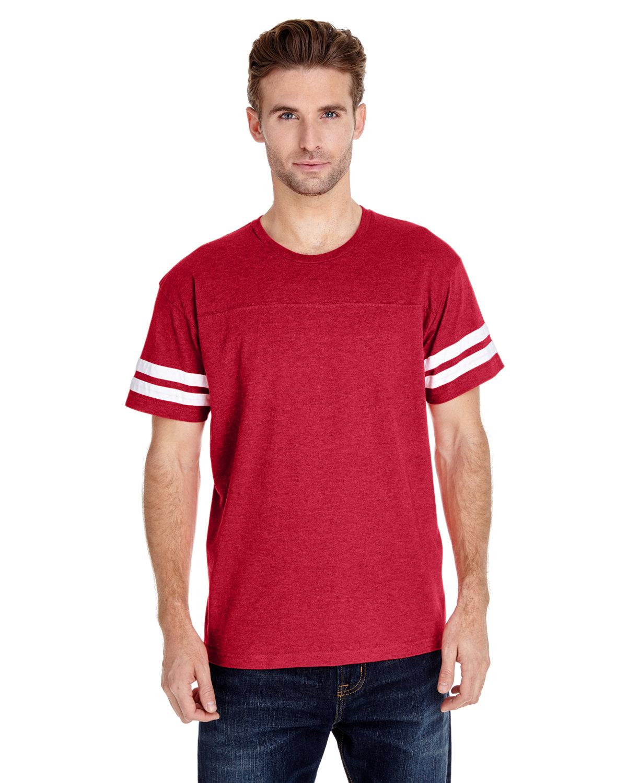 LAT Men's Football T-Shirt VN RED/ BLD WHT