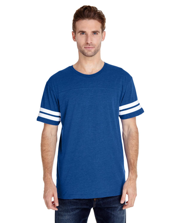 LAT Men's Football T-Shirt VN ROYAL/ BD WHT