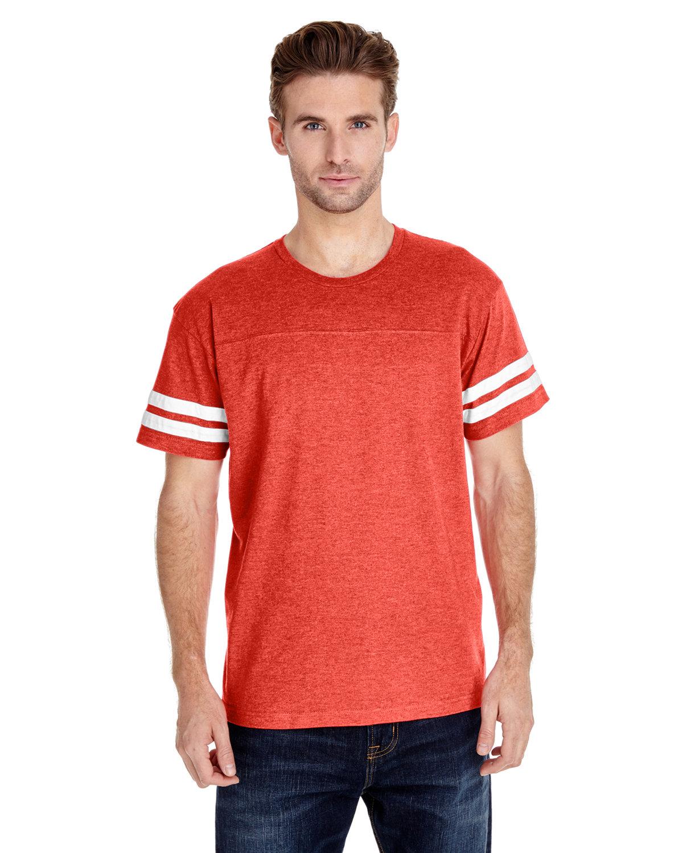 LAT Men's Football T-Shirt VN ORANGE/ BD WH