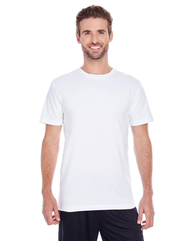 LAT Men's Premium Jersey T-Shirt WHITE