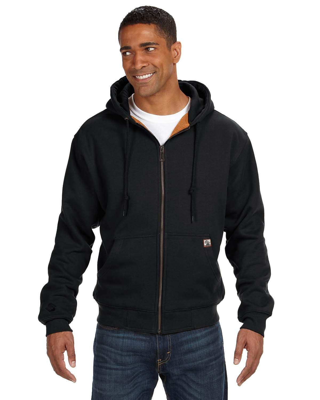 Dri Duck Men's Tall Crossfire PowerFleeceTM Fleece Jacket BLACK
