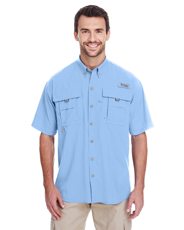 Columbia Men's Bahama™ II Short-Sleeve Shirt SAIL