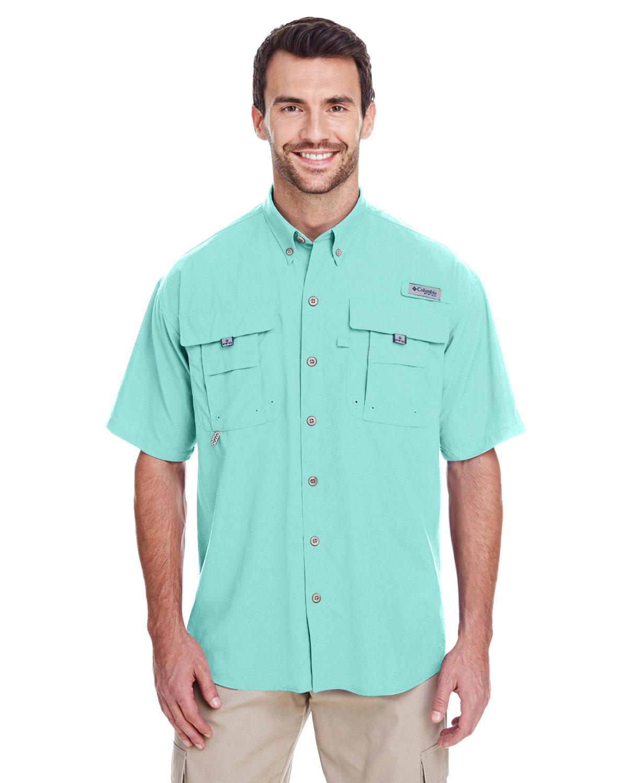 Columbia Men's Bahama™ II Short-Sleeve Shirt GULF STREAM