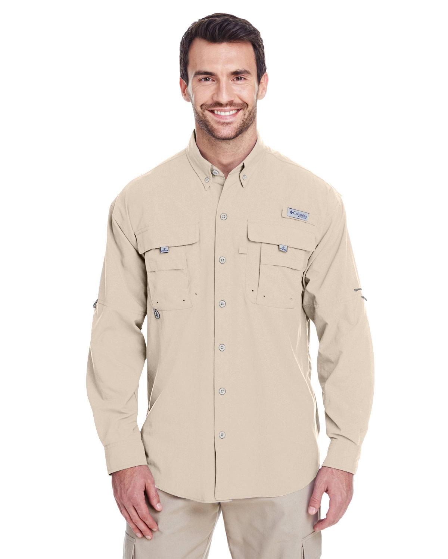 Columbia Men's Bahama™ II Long-Sleeve Shirt FOSSIL