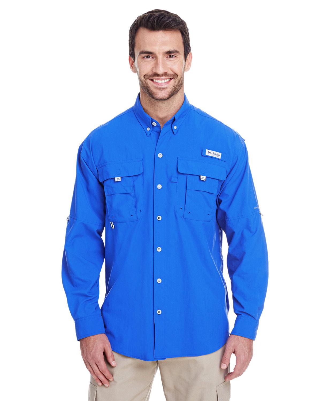 Columbia Men's Bahama™ II Long-Sleeve Shirt VIVID BLUE