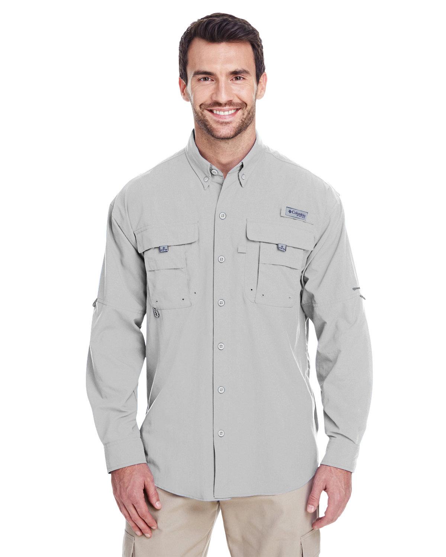 Columbia Men's Bahama™ II Long-Sleeve Shirt COOL GREY