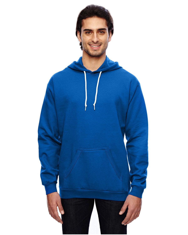 Anvil Adult Pullover Hooded Fleece ROYAL BLUE