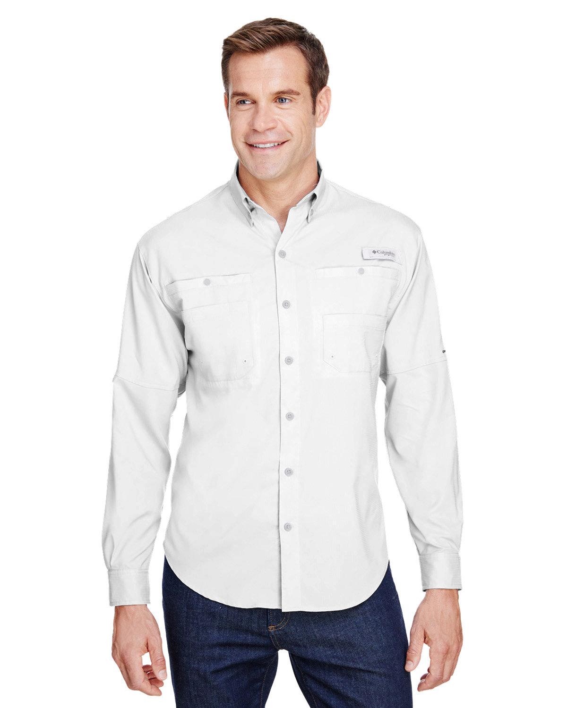 Columbia Men's Tamiami™ II Long-Sleeve Shirt WHITE