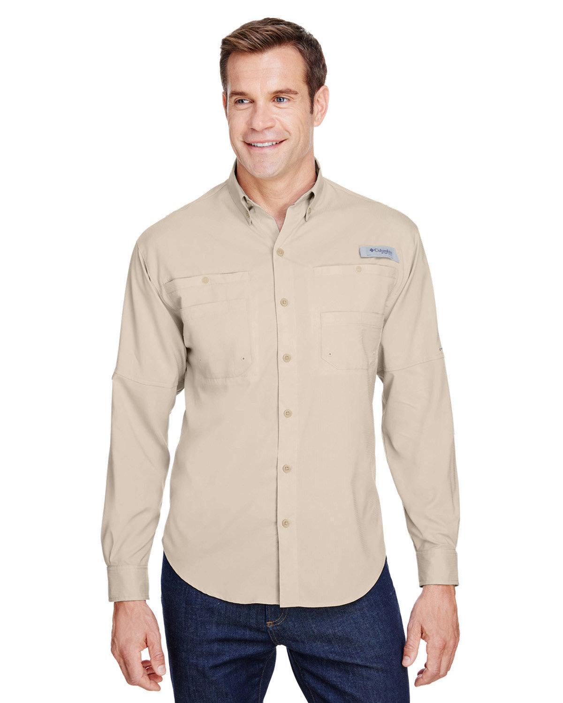 Columbia Men's Tamiami™ II Long-Sleeve Shirt FOSSIL