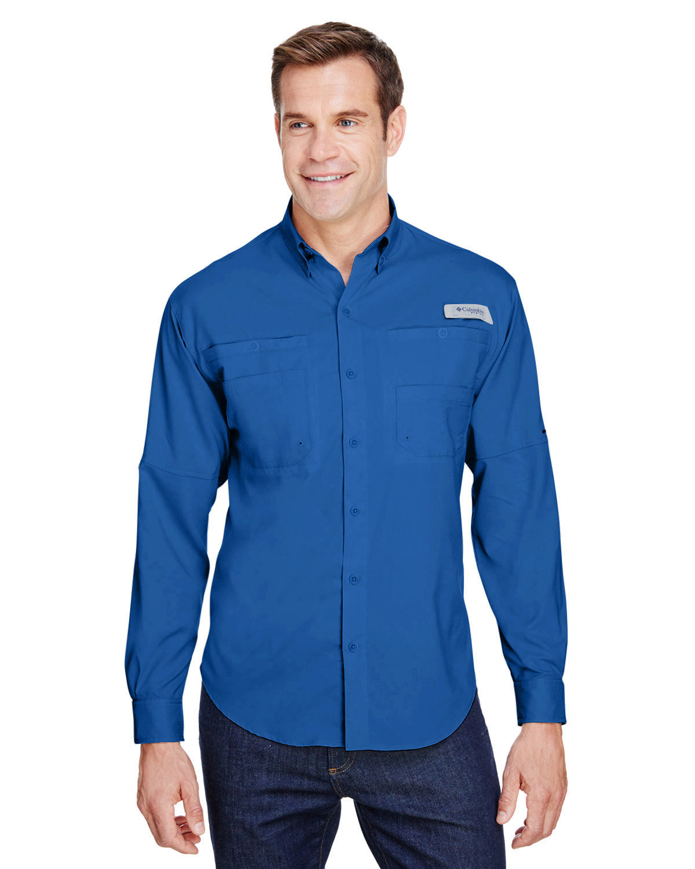 Columbia Men's Tamiami™ II Long-Sleeve Shirt VIVID BLUE