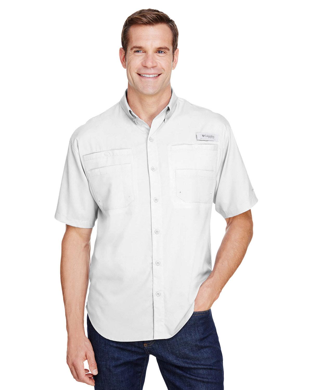 Columbia Men's Tamiami™ II Short-Sleeve Shirt WHITE