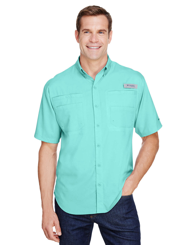 Columbia Men's Tamiami™ II Short-Sleeve Shirt GULF STREAM