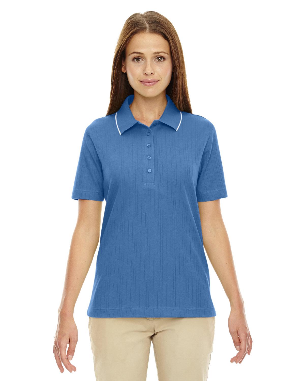 Extreme Ladies' Edry® Needle-Out Interlock Polo LAKE BLUE