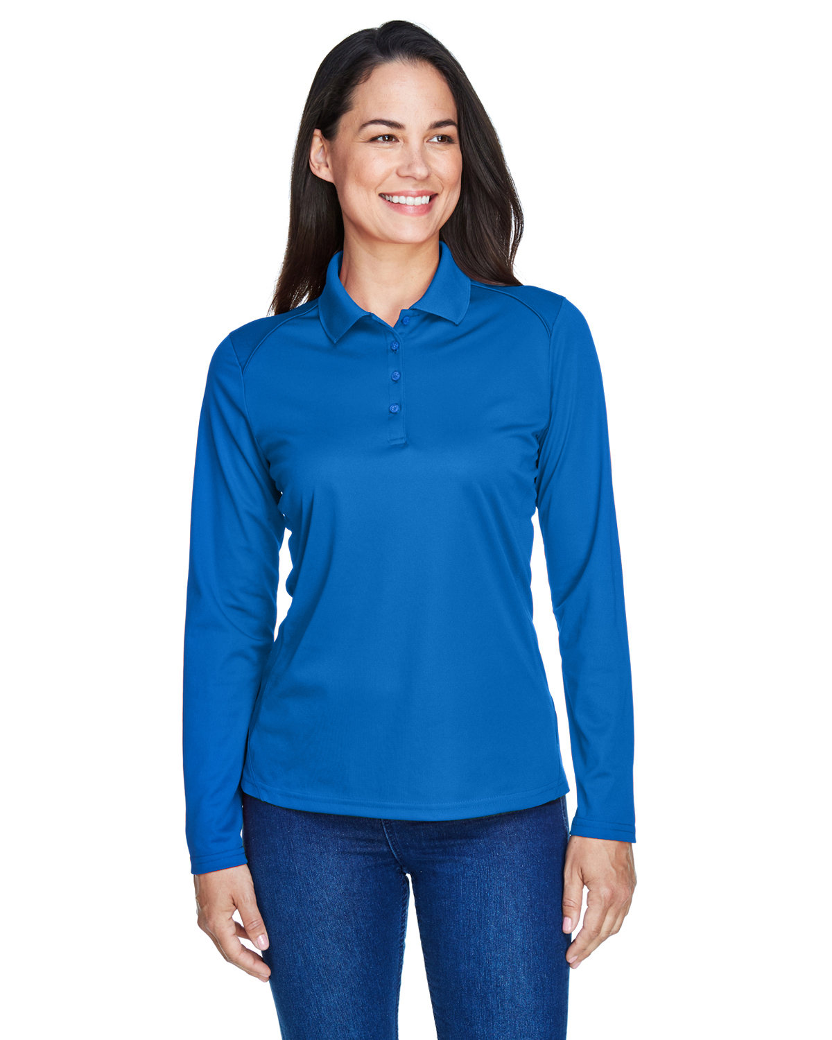 Extreme Ladies' Eperformance™ Snag Protection Long-Sleeve Polo TRUE ROYAL