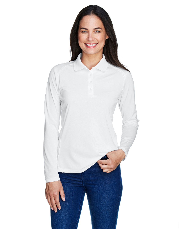 Extreme Ladies' Eperformance™ Snag Protection Long-Sleeve Polo WHITE